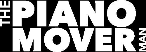 Piano Mover Man Logo White